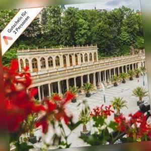 Kurzurlaub Tschechien Karlsbad 3 Tage Hotel für 2 Personen mit Pool Wellness SPA