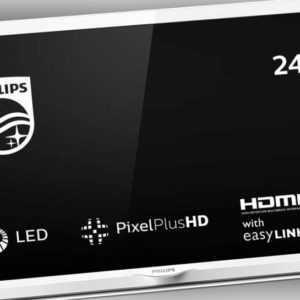 Philips 24PHS4354/12 Fernseher 60 cm (24 Zoll) LED TV (Pixel Plus HD,USB)