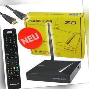 Formuler Z8 4K UHD Android7 TV Box Media Player Internet Streamer HEVC HDTV WLAN