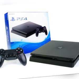 SONY PS4 SLIM Konsole 1000GB + NEUEN Subsonic Controller 1TB - Playstation 4