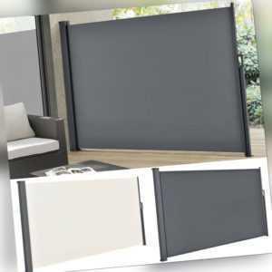 Seitenmarkise Seitenwandmarkise Markise Sichtschutz Windschutz Balkon ArtLife®