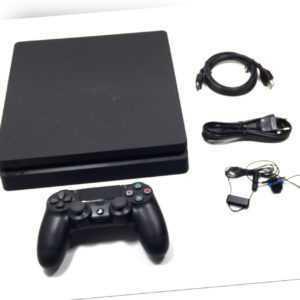Sony Playstation 4 Slim 500GB Jet Black/Schwarz Spielekonsole CUH-2216A
