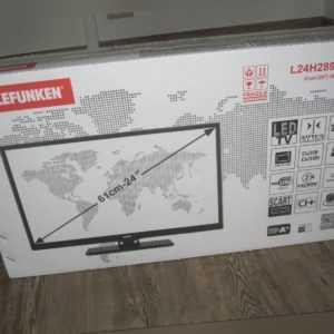 Telefunken L24H289  - 12 Volt TV für LKW ,  Camping - 24 Zoll ( 61cm)