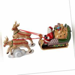VILLEROY & BOCH Christmas Toys Weihnachtsdeko Schlitten North Pole mit Teelicht