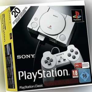 Sony Playstation Classic Mini Konsole inkl. 20 Spiele 2 Controller NEU ✅
