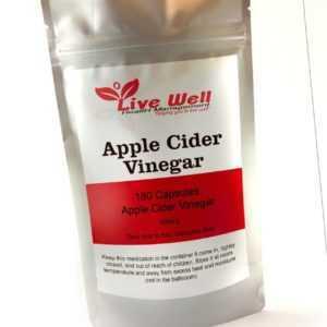 Leben Näpfe Apfelessig Kapseln, Gewichtsverlust, Cholesterol &
