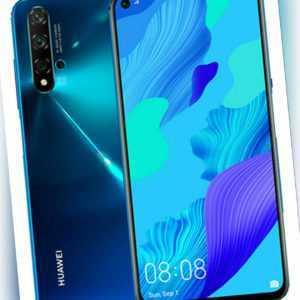 Huawei Nova 5T YAL-L21 128GB Crush Blue Blau Ohne Simlock Dual SIM...
