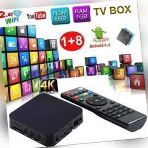 MXQ S805 Android Smart TV BOX 1GB 8GB 4K Dual WIFI 3D H.265 Quad Core UK PLUG