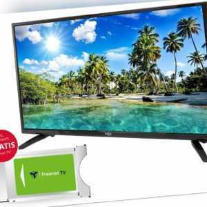 32 Zoll TV Fernseher Triple Xoro HTC3247 DVD Freenet 3MonateGratis/ Sat Receiver