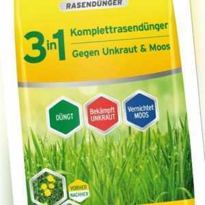 Substral 3in1 Komplett Rasendünger gegen Unkraut & Moos 14kg Unkrautvernichter