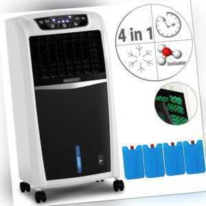 Klimagerät Ionisator Klimaanlage 4in1 Mobil Luftkühler Luftbefeuchter Ventilator