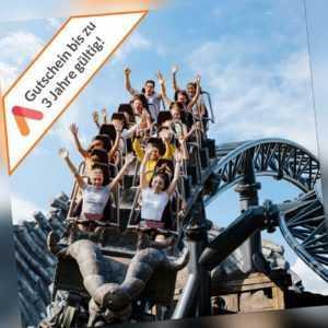 Kurzreise bei Köln 2-3 Tage 2 P. Schloss Hotel Gutschein + Phantasialand Tickets