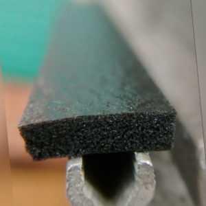 Universal- Gewächshaus Verglasung Dichtung 25 Meter Rolle 10mm x 3mm PVC Siegeln