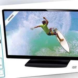"28"" Zoll LED TV TERRIS HD FERNSEHER 28,5'' 73 cm DVD/ DVB-T/ DVB-C/ DVB-S/ A+"