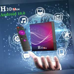 6K H10 MAX Android 10.0 TV Box H616 Quad Core 4GB+32GB/64GB Media Player O9G6