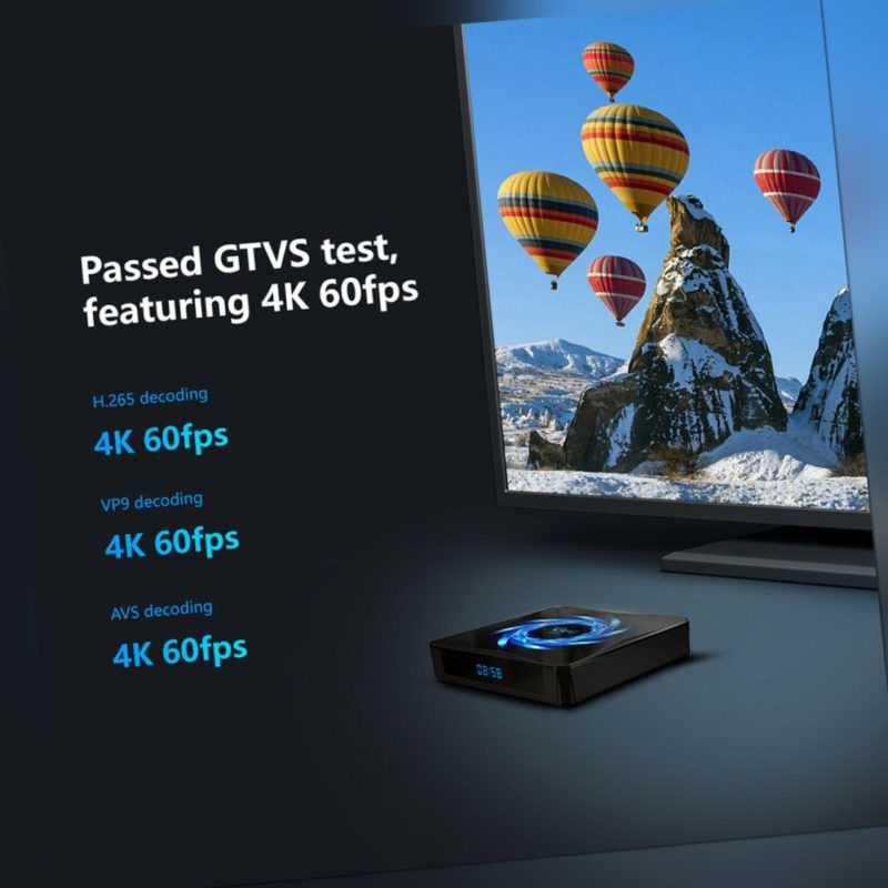 X96Q MAX Smart TV Box Android 10.0 4GB RAM 32GB ROM Bluetooth 5.0 Media Player