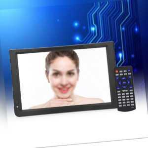 tragbarer LED Mini TV Fernseher DVB-T/DVB-T2 11.6 Zoll USB Mediaplayer 12V DE