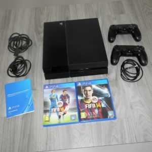 Sony Playstation 4, 500GB, + 2 Controller + 2 Spiele