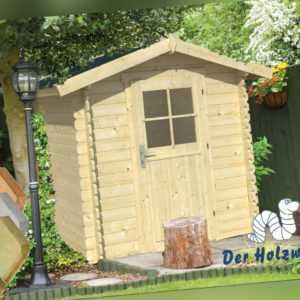 28 mm Gartenhaus Richard Blockhaus INCLUSIVE MONTAGE Gerätehaus Holzhaus 2 x2 m