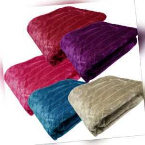 Nerzfelloptik Decke Nerzdecke Fell Decke Wohn Sofaüberwurf Kuschel