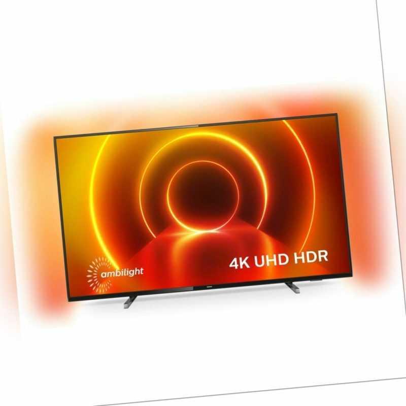 Philips TV 75PUS7805/12 4K Ultra HD LED Fernseher 189 cm [75 Zoll] Smart TV HDR