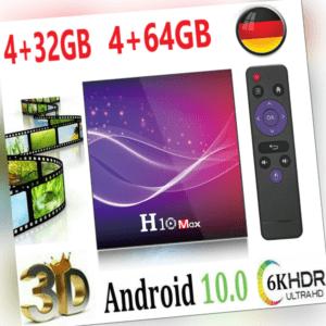2020 H10 MAX Android 10.0 TV Box H616 QuadCore WIFI Media 6K HDR 4+64GB / 4+32GB