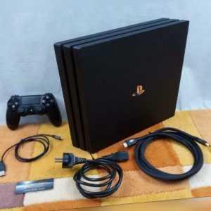 PS4 Playstation 4 Pro 1TB +Zubehörpaket: Duralshock 4 Controller ! Neuwertig