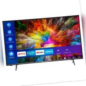 "MEDION X15000 Fernseher 138,8cm/55"" Zoll 4K UHD Smart TV HDR10 Micro Dimming A+"