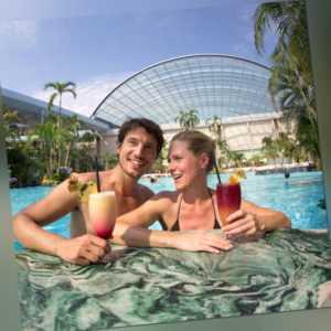 Wellness Kurztrip Thermen & Badewelt Sinsheim Tageskarte + Hotel Leo Mühlhausen