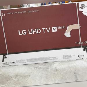 LG Electronics 60UM71007 LED-TV 151 cm 60 Zoll EEK A DVB-T2 DVB-C DVB-S mMANGEL