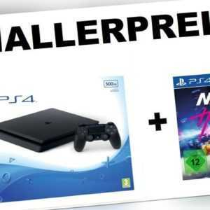 SONY PlayStation 4 PS4 SLIM 500GB + NEED FOR SPEED HEAT - NEU OVP