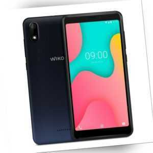 Wiko Y60 Dual-SIM Anthracite Blue Smartphone Handy (5,45 Zoll, 16...