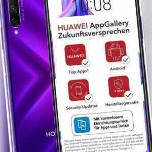 Huawei Honor 9X Pro 6GB RAM 256GB - Phantom Purple ohne Google...