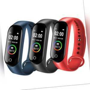Bluetooth Smartwatch Fitness Armband Fitness Tracker Sportuhr Wasserdicht Neu