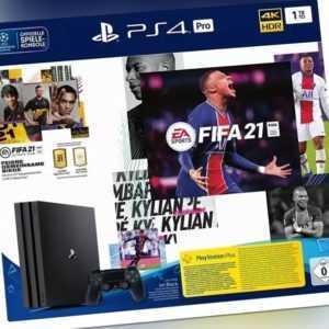 2684312 Sony Playstation 4 Pro 1TB inkl. Fifa 21 Bundle - NEU OVP