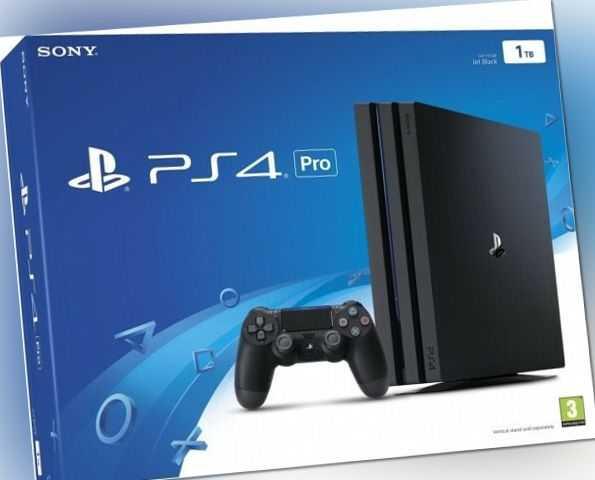 Sony PlayStation 4 Pro 1TB schwarz - WIE NEU