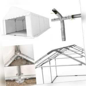Lagerzelt 3x4 - 8x12m Zelthalle Weidezelt PVC ca. 500g/m² mit Bodenrahmen NEU