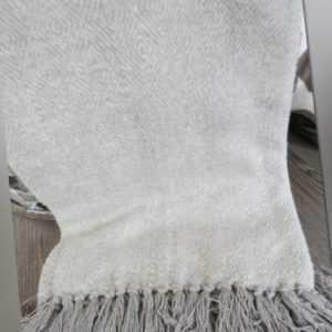Decke Plaid Riviera Maison Grau Cortina Soft Grey Throw 170X130
