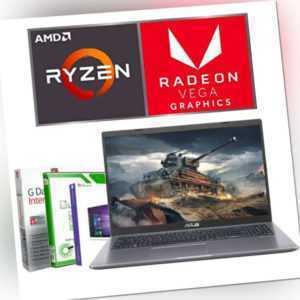 "15.6"" FULL HD Gamer ASUS Laptop Ryzen 3 8GB DDR4 - 256GB SSD Windows 10 Notebook"