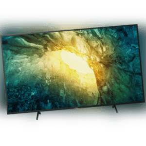 Sony KD65X7055 4K Ultra HD LED Fernseher 164 cm [65 Zoll] Smart TV HDR Schwarz