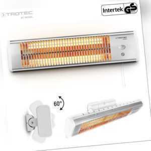 TROTEC Heizstrahler IR 1200 S | Terrassenstrahler Wärmestrahler Infrarotstrahler