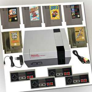 NES Nintendo Konsole Original Controller Mario Zelda Link Spiele  2-4 Spieler
