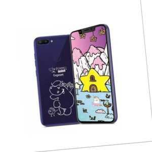 Gigaset Smartphone GS195 Pummelphone purple 6,18 Zoll 32 GB 13...