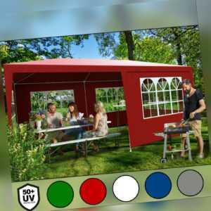 Festzelt Pavillon Partyzelt Gartenzelt Garten 3x6m Bierzelt Zelt Rimini 18m²