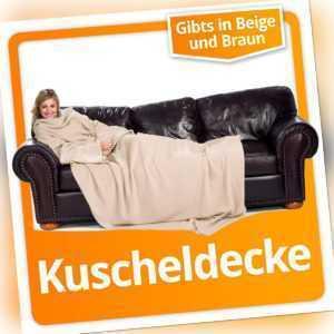 XXL Snuggie Blanket Fleecedecke Ärmeldecke Lounge-Decke