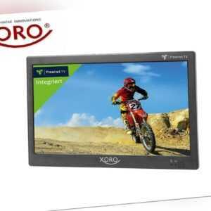 """XORO PTL 1050 Tragbarer 10"""" Zoll Fernseher, DVB-T2 Tuner, freenet TV, HDMI, USB"""