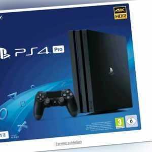 PlayStation 4 1TB PRO Black PS4 Konsole (Neu & OVP)
