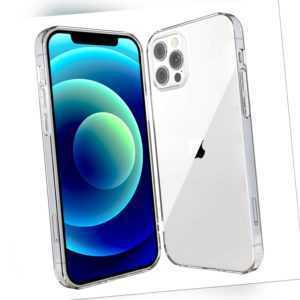 Hülle für iPhone Xs 12 11 8 7 6s SE mini Pro Max Schutz Silikon Case Transparent