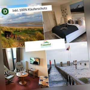 6 Tage Urlaub auf der Nordsee Insel Föhr im Hotel Friesenhof mit Frühstück