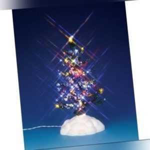 """Lemax Lighted Pine Tree, Multi """"M"""", Weihnachtsdorf, Weihnachtsdeko,"""